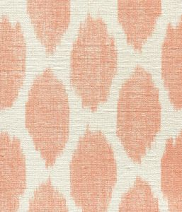 306109S ADRAS Orange on Silk Matka Quadrille Fabric