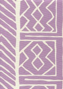 AC812-02 ARUBA II BACKGROUND Lavender on Tint Quadrille Fabric