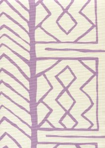 AC811-02 ARUBA II Lavender on Tint Quadrille Fabric