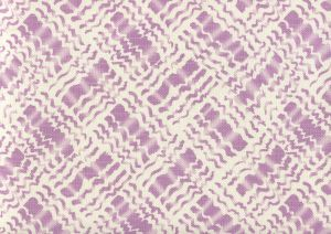 AC860-02 BAHA II Lavender on Tint Quadrille Fabric