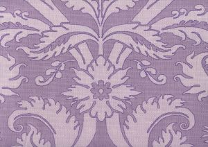 306244F BORGHESE Purple Lilac Soft Lilac on Tint Quadrille Fabric