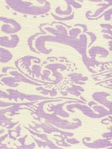 302840B-05 BROMONTE Soft Lavender on Tint Quadrille Fabric