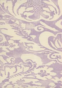 302850B-05 BROMONTE REVERSE Soft Lavender on Tint Quadrille Fabric