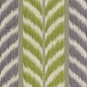 030024T CAROUSEL Lilac Green Quadrille Fabric