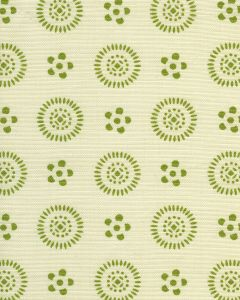 2210LC-03 CECIL Jungle Green on Tint Quadrille Fabric