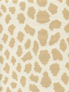 306360F-01 CHEETAH Beige on Tint Quadrille Fabric