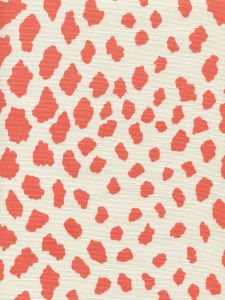 306360F-07 CHEETAH Terracotta on Tint Quadrille Fabric