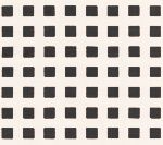 AC1220-01 CLIQUOT Black Squares on White Custom Only Quadrille Fabric