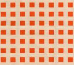 AC1220-45 CLIQUOT Orange on Tint Custom Only Quadrille Fabric