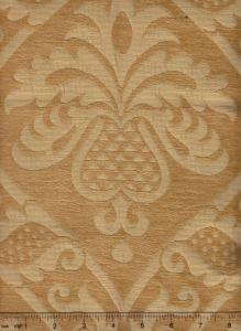 009012T CONCORDIA DAMASK Camel Quadrille Fabric