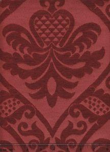 009013T CONCORDIA DAMASK Rouge Quadrille Fabric