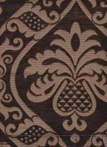 009014T CONCORDIA DAMASK Sable Brown Quadrille Fabric