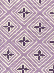 2500-16 FIORENTINA TWO COLOR Lavender Purple Quadrille Fabric