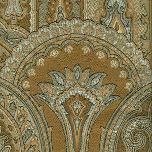 007920T GOTHIQUE Multi Greige Quadrille Fabric