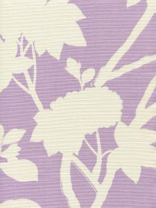 306184F HAPPY GARDEN BACKGROUND Lavender on Tint Quadrille Fabric