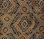009830T INCA Multi Cinnamon Gold Quadrille Fabric
