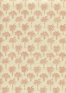 814-06 ISLAND PALM Apricot Quadrille Fabric