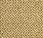 AC200-06 KELLS II Brown Camel on Tint Quadrille Fabric
