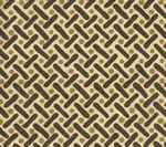 AC200-07 KELLS II Camel Brown on Tint Quadrille Fabric
