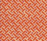 AC200-05 KELLS II Magenta Orange on Tint Quadrille Fabric