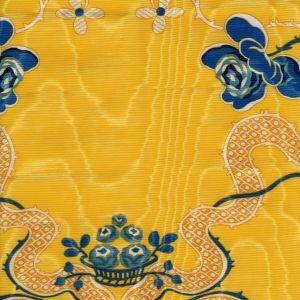 2413-01 LANCRET MOIRE Gold Quadrille Fabric