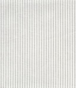 6920W-13 LILA STRIPE Soft Gray on White Linen Quadrille Fabric
