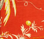 6010-01 LYFORD PRINT Watermelon on Tint Quadrille Fabric