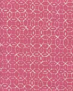 6455-14 MELONG BATIK REVERSE Magenta on Tint Quadrille Fabric