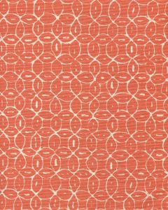 6455-15 MELONG BATIK REVERSE Orange on Tint Quadrille Fabric