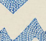 AC720-08 MOJAVE ZIG ZAG Celeste on Tint Quadrille Fabric