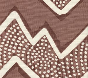 AC250-06 MONTECITO Browns on Tint Quadrille Fabric