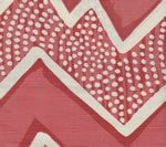 AC250-10 MONTECITO Coral on Tint Quadrille Fabric