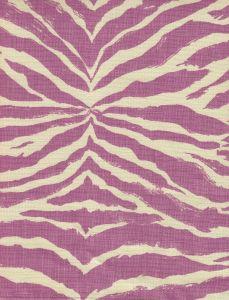 8020T-05 NAIROBI PETITE Lavender on Tan Quadrille Fabric