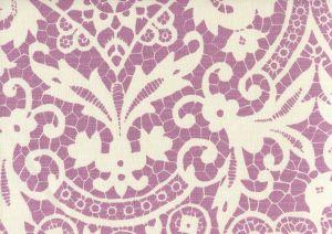 AC870-02 NEW BROMPTON Lavender on Tint Quadrille Fabric
