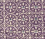 149-44 NITIK II Purple Navy on Tint Quadrille Fabric
