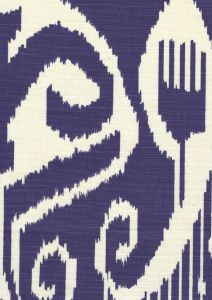 303033TLC NOMAD Purple on Tinted Linen Cotton Quadrille Fabric
