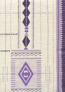 AC900-03 PALOMA MEDIUM SCALE Multi Purple Lilac Quadrille Fabric