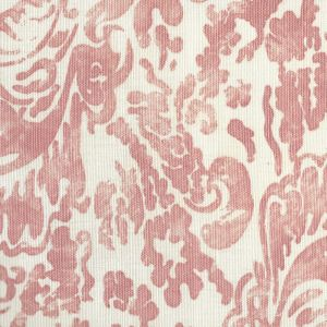 2330-04 SAN MARCO Coral on Tint Quadrille Fabric