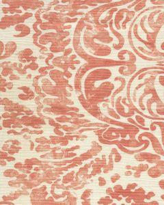 2330-07 SAN MARCO Terracotta on Tint Quadrille Fabric