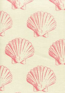 7150-05 SEASHELL Pink on Tint Quadrille Fabric