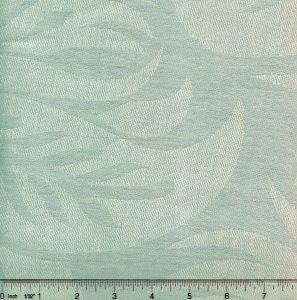 011004T SPENCER LINEN DAMASK Pale Silverleaf Quadrille Fabric