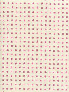 AC880-05 TATE Pink on Tint Quadrille Fabric