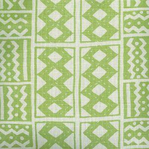 AC930-04 TIE DYE Lime Quadrille Fabric