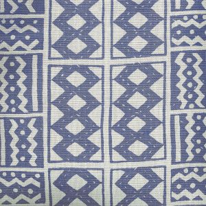 AC930-08 TIE DYE New Navy Quadrille Fabric