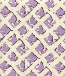 8220-06 TWIGS Lavender Purple on Tint Quadrille Fabric