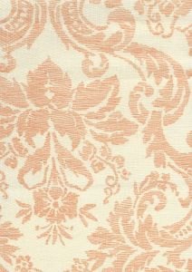302311F-CU VICTORIA Apricot on Tint Quadrille Fabric