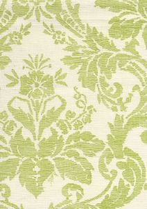302313F-CU VICTORIA Green on Tint  Quadrille Fabric