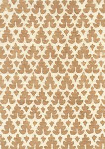 304044F VOLPI Camel on Tint Quadrille Fabric