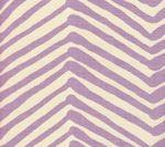 AC302-03 ZIG ZAG Lavender on Tint Quadrille Fabric