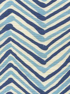 AC950-11 ZIG ZAG MULTI COLOR Turquoise Fuschia on Tint Quadrille Fabric